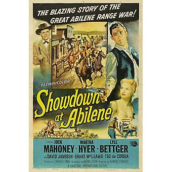 Showdown at Abilene Movie Poster Print (27 x 40)