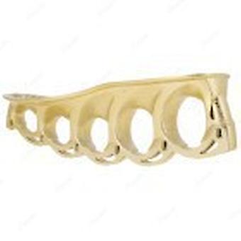 t-blade holder metallic-gold