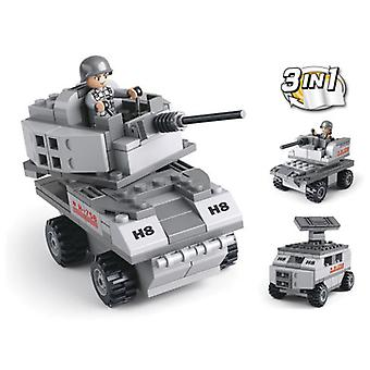 Sluban Army 3 In 1 Tank 110 Pieces (Toys , Constructions , Vehicles)
