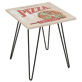 Wellindal Mesa Cuadrada pizza beige (Home , Living and dining room , Tables , Auxiliary)