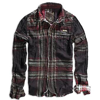 Brandit mens Wireshirt Raven shirt