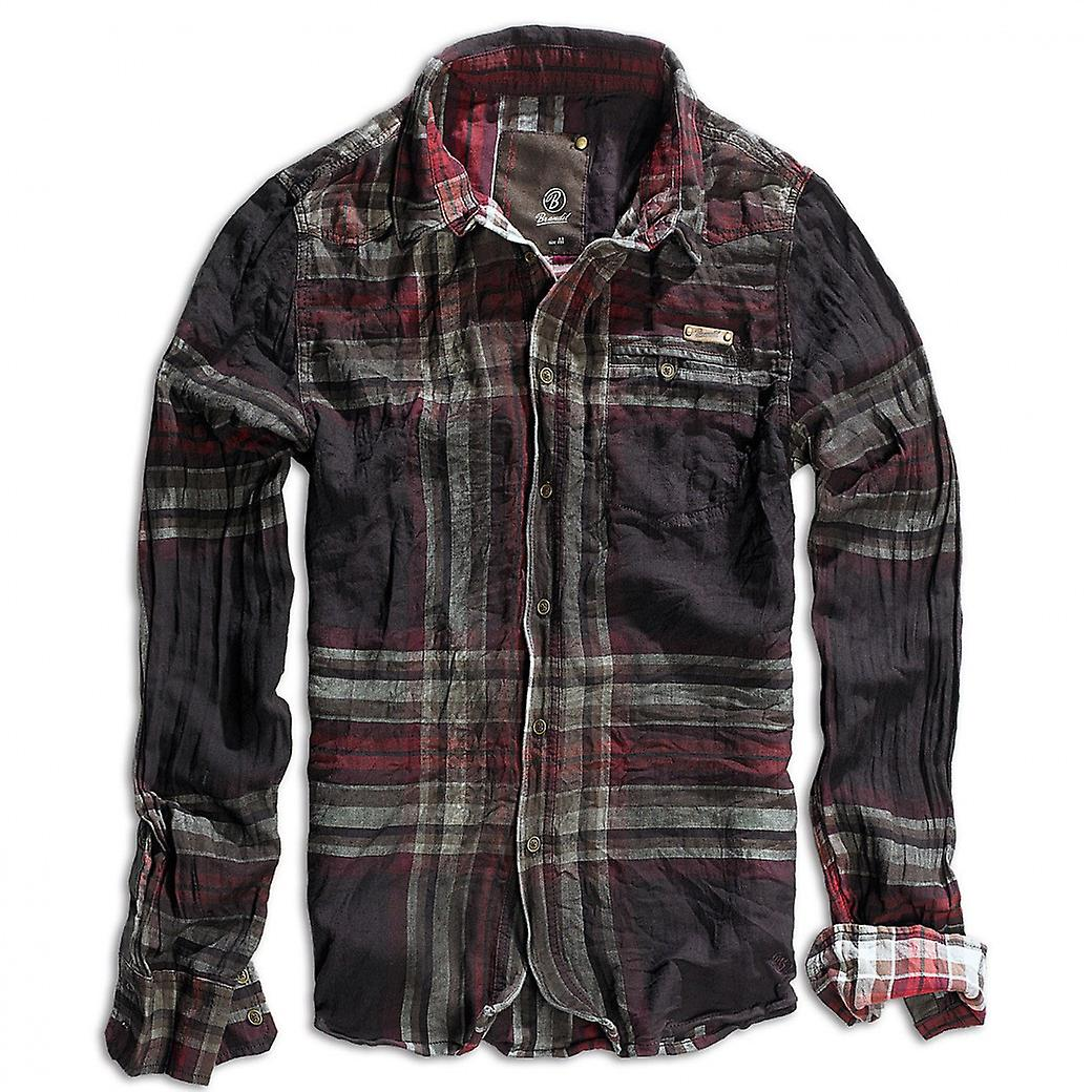 Brandit shirt Wireshirt Raven