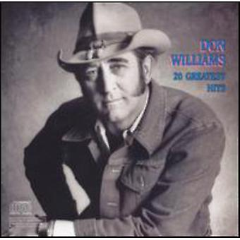 Don Williams - 20 Greatest Hits CD] USA import