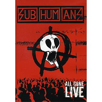 Subhumans - All Gone Live [DVD] USA import