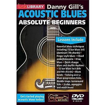 Akustisk Blues for absolutte begyndere [DVD] USA importerer