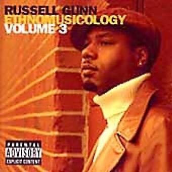 Russell Gunn - Russell Gunn: Vol. 3-musiketnologi [CD] USA import