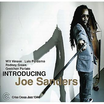 Joe Sanders - at indføre Joe Sanders [CD] USA importerer