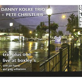 Kolke, Danny Trio & Christlieb, Pete - Trio Plus One: Live på Boxley's [CD] USA import