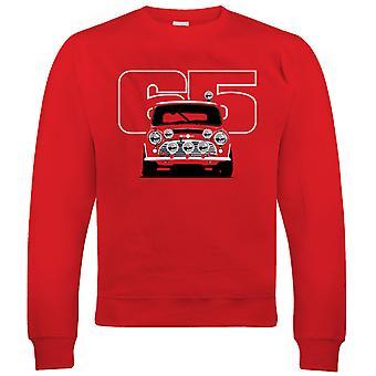Vectorbomb, Cooper S 65, Mens Rally Car Sweatshirt