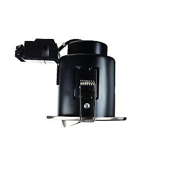 LED Robus Mains Voltage Fire Rated Bezel Tilt Downlight, White