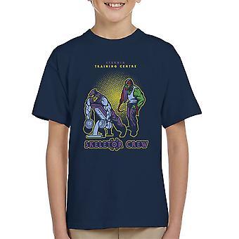 Eternia uddannelse center Skeletor besætning han mand Gym Kid's T-Shirt