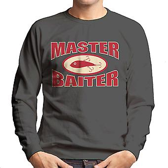 Master Baiter Fishing Pun Men's Sweatshirt