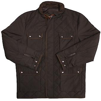 Benvenuto Fergus Quilted Jacket Black