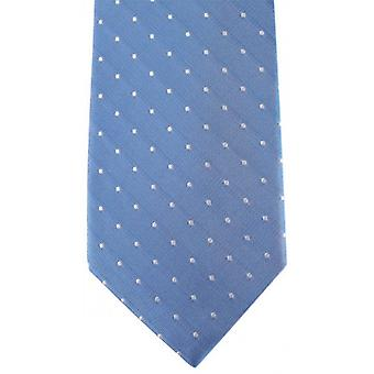 David Van Hagen Spotted Tie - Blue/White