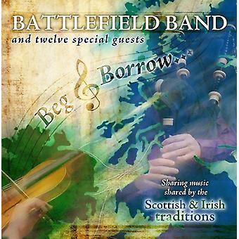 Battlefield Band - tigge & låne [CD] USA importerer