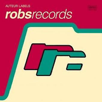 Auteur etiketter: Robs Records - Auteur etiketter: Robs Records [CD] USA import