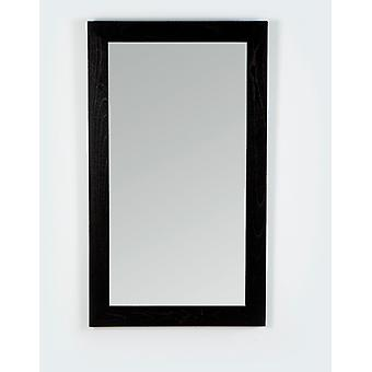 Wellindal Espejo 120x3x70 Madera Negro (Home , Decoration , Mirrors)