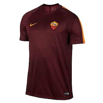 2016-2017 AS Roma Nike Pre Match Training Shirt (rood)