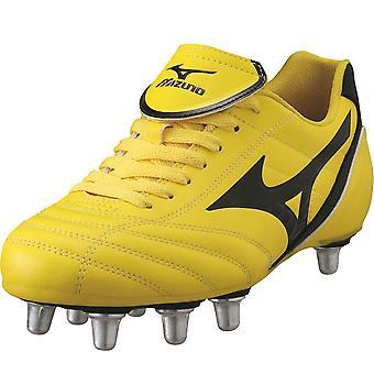 MIZUNO Fortuna klassischen Si Rugby Stiefel [gelb]