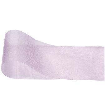 Pink Organza Ribbon for Crafts - 70mm x 25m | Ribbons & Bows for Crafts