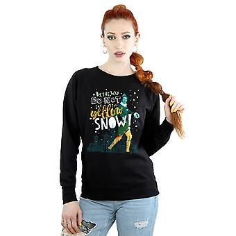 Elf Women's Yellow Snow Sweatshirt