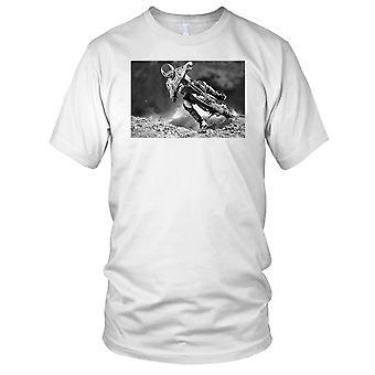 Motorcross Offorad MX snelheid B&W dames T Shirt