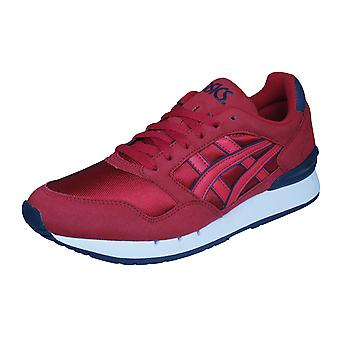 Asics Gel Atlantis Unisex Running Trainers / Shoes - Red