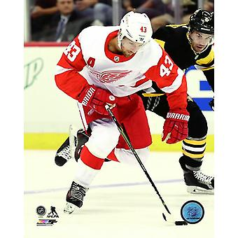 Darren Helm 2017-18 Action Photo Print