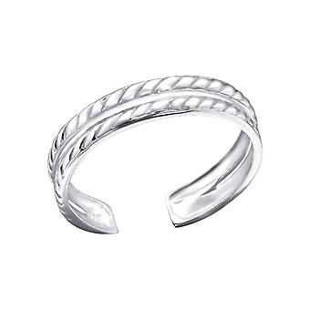Chain - 925 Sterling Silver Toe Rings