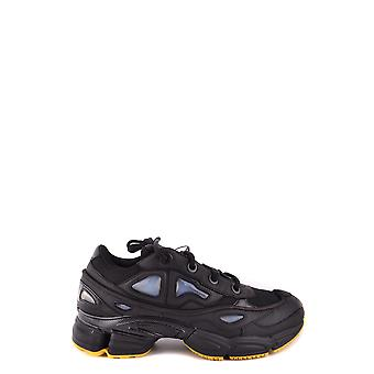 Adidas by RAF of Simons's men's BB6741 black cloth of sneakers