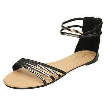 Ladies Savannah Ankle Strap Sandal