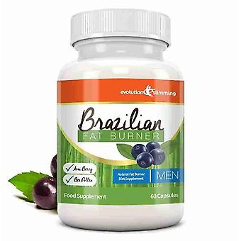 Brazilian Fat Burner for Men - 60 Capsules - Fat Burner - Evolution Slimming