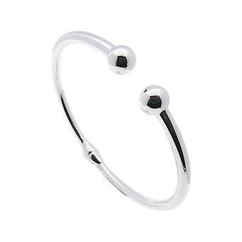 Christian silver slave bracelet