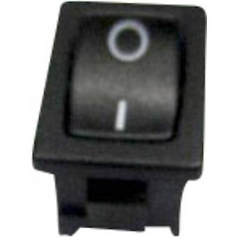 Toggle switch 250 V AC 6 A 1 x On/(Off) SCI R13-66