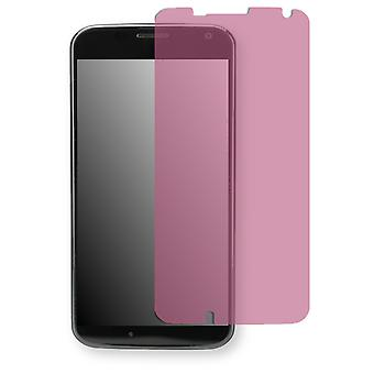 Motorola XT1058 screen protector - Golebo view protector protector (deliberately smaller than the display, as this is arched)