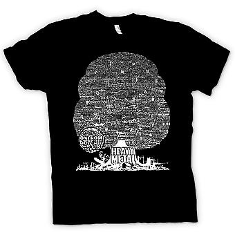 Mens T-shirt - Heavy-Metal - Baum des Lebens