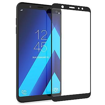 Samsung Galaxy A6 Plus (2018) Tempered Glass (Single) - Black Edge