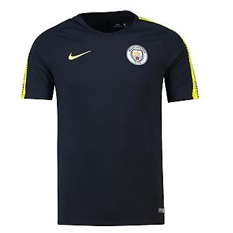 2018-2019 Man City Nike Squad Trainingsshirt (Marine)