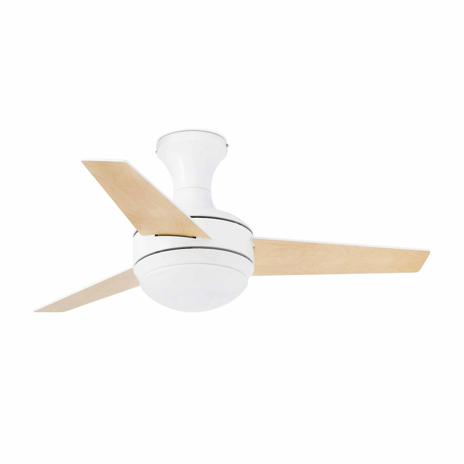 Ceiling fan MINI UFO White with Light and Remote