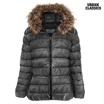 Urban classics ladies spray dye winter jacket