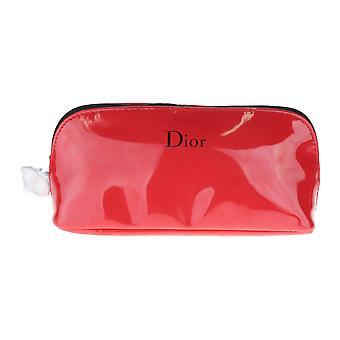"""Christian Dior röd rese necessär ny i fält 7 """"X 3.5"""" X 2,5 """""""