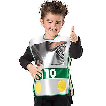 Coche de cabo de policía asistente traje niños niños niños traje