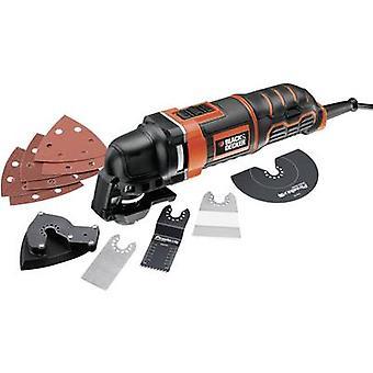 Zwarte & Decker MT300KA MT300KA-QS multifunctioneel gereedschap incl. accessoires, incl. geval 13-delige 300 W