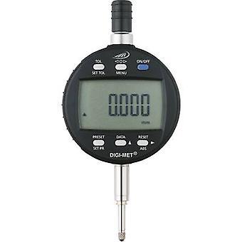 HELIOS PREISSER 1726 502 Dial gauge + LCD 12.5 mm Reading: 0.001 mm