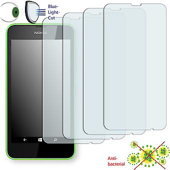 Nokia Lumia 630 dual SIM display protector - Disagu ClearScreen protector (deliberately smaller than the display, as this is arched)
