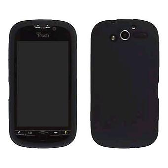 Wireless Solutions Silicone Gel Case for HTC Mytouch 4G - Black