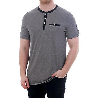 Ted Baker Mens Labdorr Ss Striped Henley