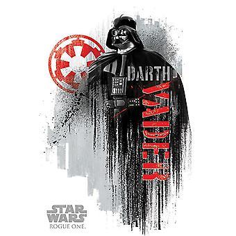 Rogue one: A Star Wars story Darth Vader grunge Darth Vader.