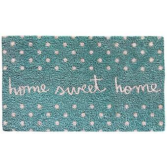 Wellindal Blue doormat home sweet home (Decoration , Carpets)