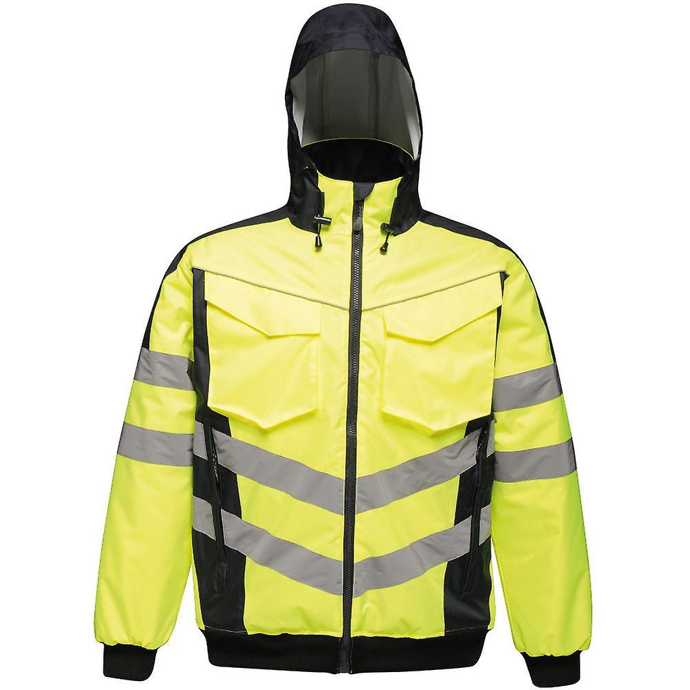 Regatta Pour des hommes Hi Vis Pro imperméable vêtehommests de travail Bomber veste